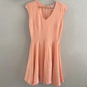 Bar III peach dress